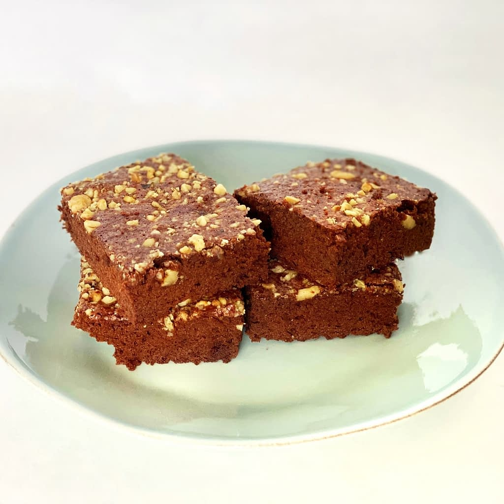 brownies with walnuts dairy-free