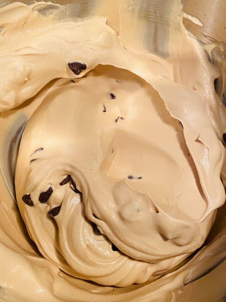 coffee chip ice cream